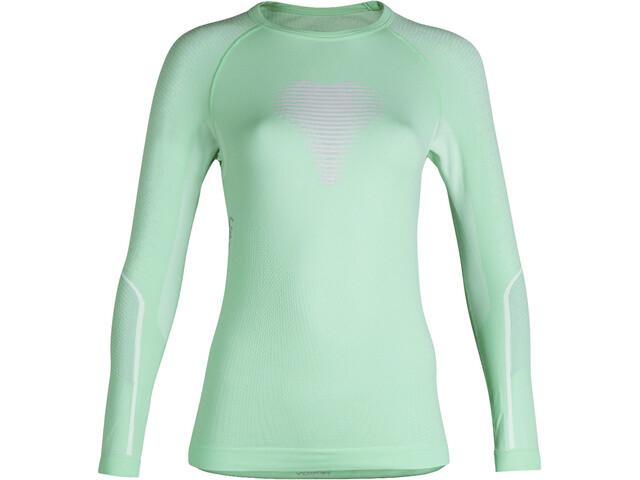 UYN Visyon UW T-shirt à manches longues Femme, aqua/pink/pearl grey